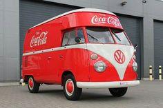 Volkswagen Bus, Vw T1, Vw Camper, Coca Cola Sales, Always Coca Cola, Combi Vw, Mini Bus, Amazing Cars, Pickup Trucks