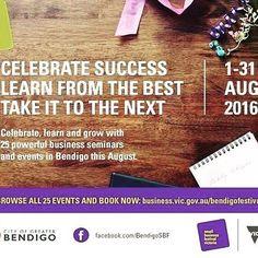 Bendigo Small Business Festival kicks off next week .grab a program and book your spot. Macedon Ranges, Fun Learning, Kicks, Branding, Digital, Business, Book, Instagram Posts, How To Make