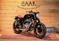 Royal Enfield Continental GT Tracker