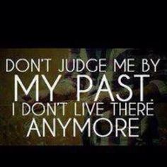 We should never judge people ... And most definitely not by anyone's worst moments