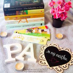 """M A I ♕ on Instagram: """"¿Habéis visto la última entrada de ayer en el blog? Una nueva entrada de nuestro #InMyMailbox, la primera parte de los libros que llegaron…"""""""