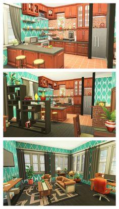 Roblox Bloxburg Budget Build Modern House Elegant the Sims 4 Renovation 17 Culpepper House No Cc Sims 3 Houses Ideas, Sims 4 Houses Layout, House Layouts, Sims Ideas, House Ideas, Sims 4 Modern House, Sims 4 House Design, Sims 4 House Plans, Sims 4 House Building