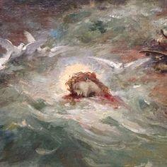 Henri Leopold Lévy (1840 - 1904) - The Death of Orpheus (detail)