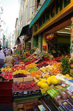 Quartier de Noailles, Marseille, France