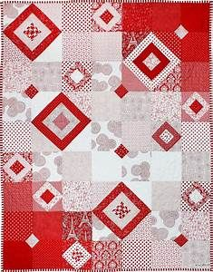 Quilt Inspiration: Free pattern day! Red and white quilts ...