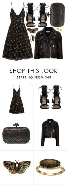 """street style"" by sisaez ❤ liked on Polyvore featuring Valentino, Zimmermann, Bottega Veneta, Étoile Isabel Marant, Yves Saint Laurent and Cole Haan"