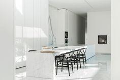 Villa B, Mass Architect, marble by Il Granito. Photography: Tineke De Vos.