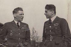 S kpt. gšt. Františkem Fajtlem (vpravo)