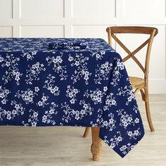 Cherry Blossom Tablecloth #williamssonoma