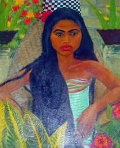 By Walter Spies (1898-1940) who lived in Bali for so many years