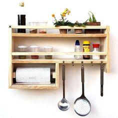 Kitchen Room Design, Kitchen Interior, Kitchen Decor, Diy Pallet Furniture, Kitchen Furniture, Furniture Design, Country Kitchen Island, Bois Diy, Modern Rustic Decor