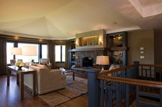 Classic Luxury Residence by The Inman Company #Livingroom
