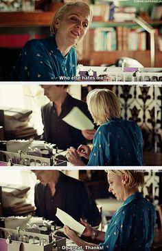 Mary and Sherlock