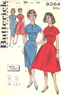 Butterick Printed Pattern