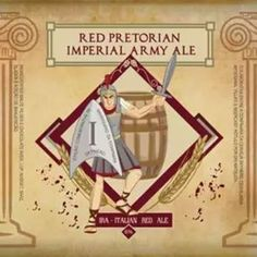 Cerveja caseira avaliada no programa: Red Pretorian Imperial Army Ale!