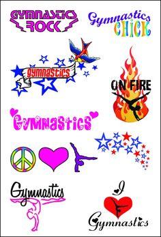 Emily: Tattoos Gymnastics