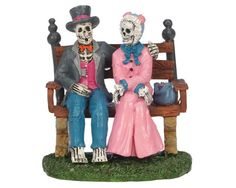 Lemax Spooky Town Figurine: Everlasting Love 1 of many cute couples I own