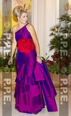 Crown Princess Maxima of the Netherland in Singapore 1/24/13