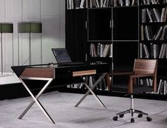 Modrest Orwell - Contemporary Minimal Office Desk by VIG Furniture