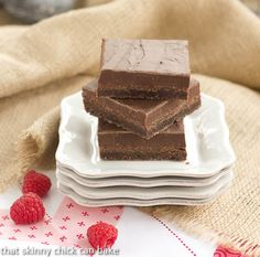 Fudge Topped Brownies