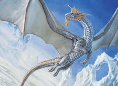 Beautiful Dragons | Silver Dragon - Non-alien Creatures Wiki