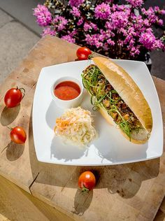 Hot Dog z kurczaka #grill #przepisy #kurczak #hotdog #POLOmarket