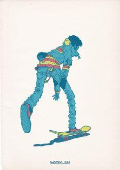Designspiration — Skateboarding is a Crime on the Behance Network