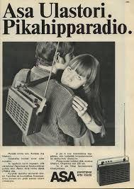 Radio advertising in // Radiomainos Hymy-lehdessä Vintage Advertisements, Vintage Ads, Radios, Radio Advertising, Old Commercials, Old Ads, Teenage Years, Good Ol, Asana