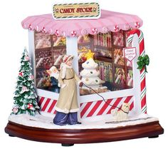 Musical Christmas Candy Shop