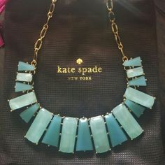 Kate Spade Necklace New with tags and dust bag  Offers are accepted  ❤Please be considerate of Poshmark's 20% fees  ❌Sorry no trades kate spade Jewelry Necklaces