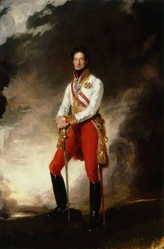 Sir Thomas Lawrence (British 1769–1830) [Romanticism, Portrait artist] Archduke Charles of Austria.