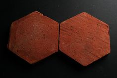 TC 2 Hexagonal terra cotta tiles