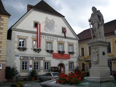 Alte Rathhaus (Town Hall) in Grein Austria
