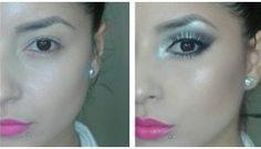 8 Trucos increíbles para maquillaje de ojos Makeup Tips, Beauty Makeup, Eye Makeup, Hair Beauty, Chokers, Hoop Earrings, Make Up, Eyes, Drink