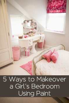 Here are 5 ideas of things you can do that will help give your little girl's room a makeover without having to spend a fortune: Paint All Furniture The Same Color – You can take old, mismatched furniture, ugly craigslist pieces and paint them all the same color or complimentary …