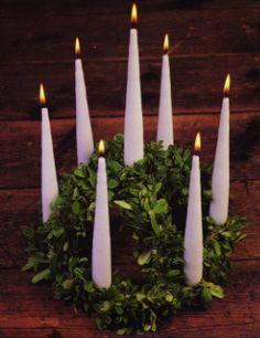 Imbolc Candle Wheel