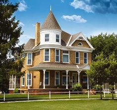 Glorious Turret - 80723PM | Victorian, Canadian, Metric, Narrow Lot, Photo Gallery, 2nd Floor Master Suite, CAD Available, Media-Game-Home Theater, PDF, Wrap Around Porch | Architectural Designs