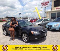 #HappyAnniversary to Lakeshia Fuller on your 2006 #Hyundai #Sonata from Kara Short at Auto Center of Texas!
