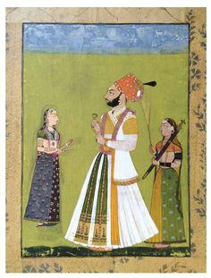 rathor maharaja jagat singh an ||| miniature ||| sotheby's n09665lot9bqj5en