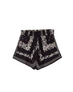 LORA - Paperbag shorts - Bandana print Bandana Print, Printed Shorts, Boho Shorts, Feminine, Model, Cotton, How To Wear, Collection, Fashion