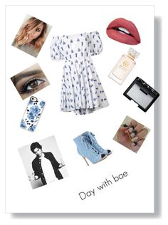 """""""Untitled #14"""" by kelsey2o16 ❤ liked on Polyvore featuring Caroline Constas, Casetify, Tory Burch, NARS Cosmetics and Gianvito Rossi"""