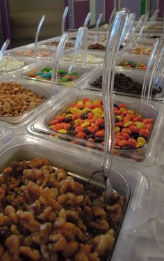 Top it off! #toppings #candy