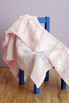 crochet baby blanket = free pattern