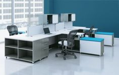 AIS is a leading manufacturer of commercial office furniture and seating. Our growth and success is astounding, and it's all the result of thinking about office furniture differently. We're proof office furniture can have charisma. Cool Office, Office Decor, Open Concept Office, Cubicle Design, Commercial Office Furniture, Panel Systems, Furniture Manufacturers, Table Desk, Corner Desk
