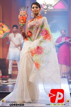Fantastic Floral Saree #saree #sari #blouse #indian #hp #outfit #shaadi #bridal #fashion #style #desi #designer #wedding #gorgeous #beautiful