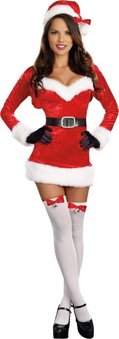 Santa Baby Female Christmas Adult Womenu0027s Costume  sc 1 st  Pinterest & 31 best Christmas Adult Costumes images on Pinterest | Adult ...