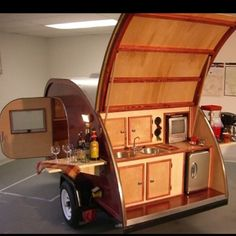 teardrop camper I would LOVE one of these