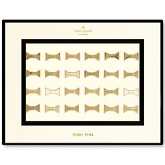 Your corkboard photo collage just found it's soul mate. Bow shaped push pins add an air of class to any inspiration wall or corkboard. Pin away! · 24 Bo