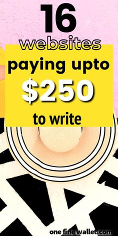 Want to get paid to write online? Here are 16 HIGH paying wesbites for you to write and get paid instantly working at home. Freelance Writing Jobs, Writing Advice, Blog Writing, Freelance Websites, Quick Money, Way To Make Money, Money Fast, Extra Money, Earn Money From Home