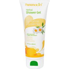 Herbacin Kamille Shower Gel - Herbal - Camomile and Green Tea - 6.7 fl oz - The marvelously soothing shower experience: Camomile extracts have a calming and anti inflammatory effect Green tea has a refreshing effect and antibacterial properties It provides intensive moistureIngredients: Aqua (Water) , Sodium Laureth Sulfate, Cocamidopropyl Betaine, Laureth-7 Citrate, Coco-Glucoside, Glyceryl Oleate, Polyquaternium-7, Sodium Chloride, Propylene Glycol, Chamomilla Recutita (Matricaria ) Flower…
